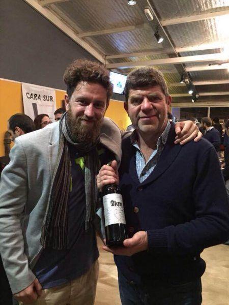 Enrique Sack junto a Juan Pablo Michelini