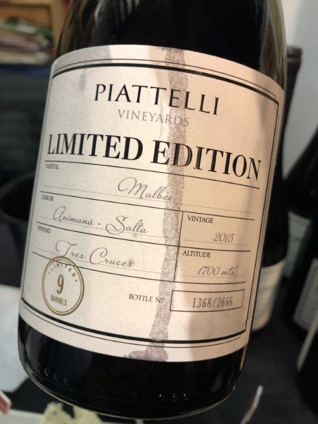 Piattelli Limited Edition Malbec
