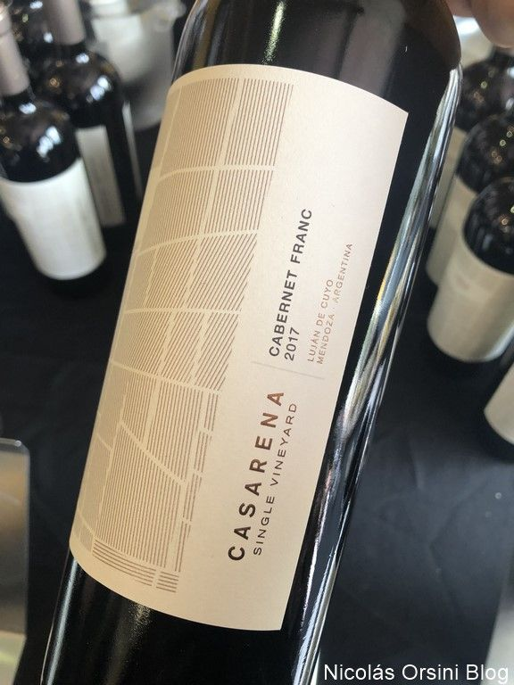 Casarena Single Vineyard Cabernet Franc 2017