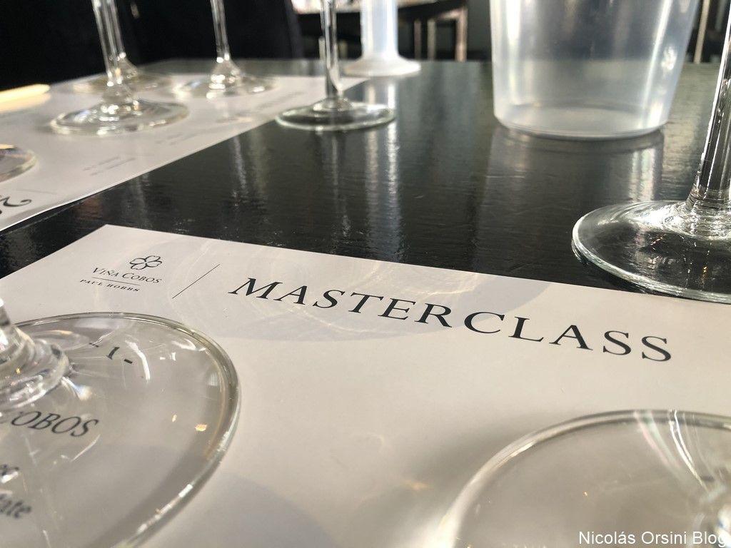 Masterclass de Viña Cobos